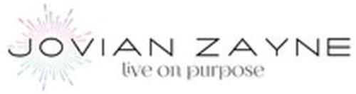 JOVIAN ZAYNE LIVE ON PURPOSE