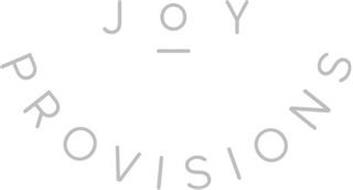 JOY PROVISIONS