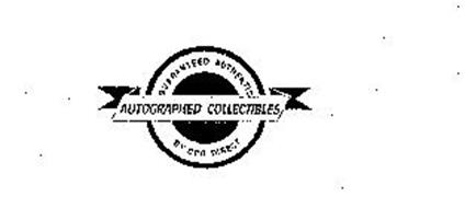 GUARANTEED AUTHENTIC AUTOGRAPHED COLLECTIBLES BY CPG DIRECT