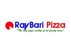 "RAY BARI PIZZA ""THE ONLY PIZZA WORTHY OF ITS FAMILY NAME"""
