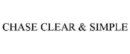 CHASE CLEAR & SIMPLE