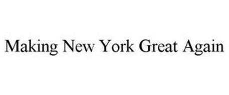 MAKING NEW YORK GREAT AGAIN