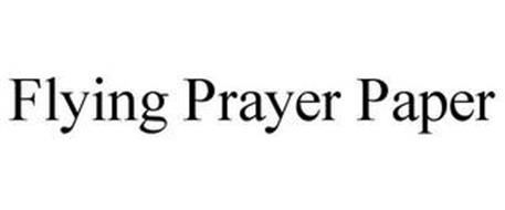 FLYING PRAYER PAPER