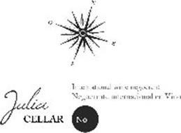 JULIA CELLAR NO INTERNATIONAL WINE NEGOCIANT NEGOCIANTE INTERNACIONAL EN VINO N S E O
