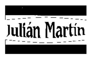 JULIAN MARTIN