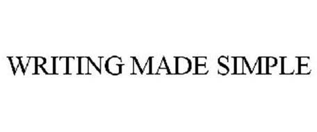 WRITING MADE SIMPLE