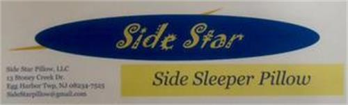 SIDE STAR SIDE SLEEPER PILLOW
