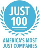 JUST 100 AMERICA'S MOST JUST COMPANIES
