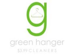 G GREEN HANGER $3.99 CLEANERS