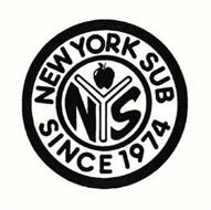 NYS NEW YORK SUB SINCE 1974