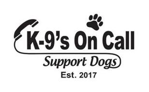 K-9'S ON CALL SUPPORT DOGS EST. 2017