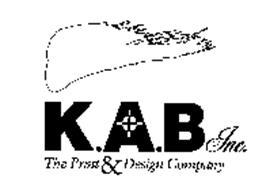 K.A.B INC. THE PRINT & DESIGN COMPANY