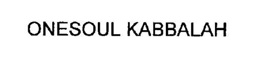 ONESOUL KABBALAH
