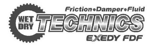 WET DRY TECHNICS FRICTION DAMPER FLUID EXEDY FDF