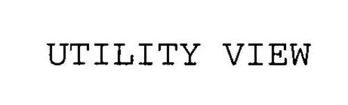 UTILITY VIEW