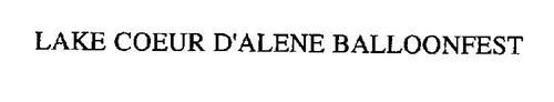 LAKE COEUR D'ALENE BALLOONFEST