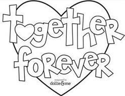 TOGETHER FOREVER IMAGINED BY DOLLIE & ME