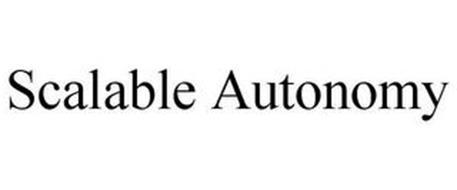 SCALABLE AUTONOMY