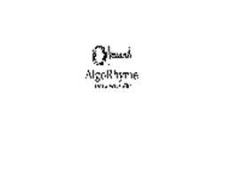 ALGORHYME DATA FRIENDLY