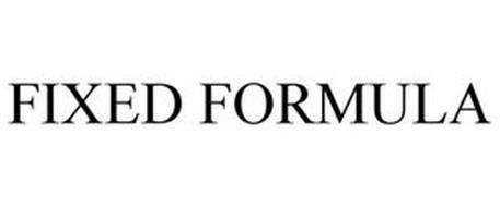 FIXED FORMULA