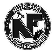 NF NUTRI-FUEL SMOOTHIES AND SUPPLEMENTS EST 2016