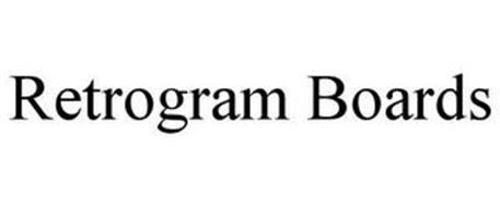 RETROGRAM BOARDS