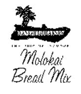 KANEMITSU BAKERY THE ORIGINAL FAMOUS MOLOKAI BREAD MIX