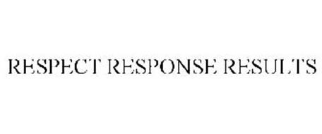 RESPECT RESPONSE RESULTS