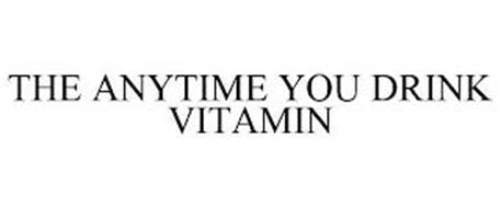 THE ANYTIME YOU DRINK VITAMIN