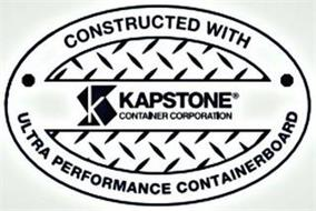 KS KAPSTONE CONTAINER CORPORATION CONSTRUCTED WITH ULTRA PERFORMANCE CONTAINERBOARD