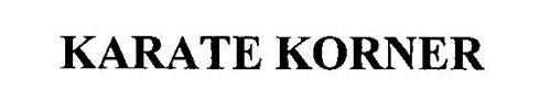 KARATE KORNER