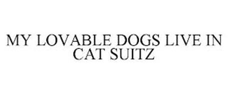 MY LOVABLE DOGS LIVE IN CAT SUITZ