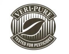 VERI-PURE TESTED FOR PESTICIDES