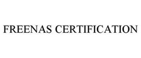 FREENAS CERTIFICATION