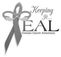 KEEPING IT... TEAL OVARIAN CANCER AWARENESS