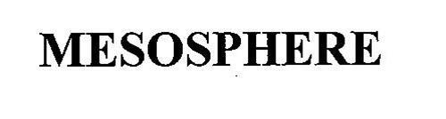MESOSPHERE Trademark of Kathmandu Limited. Serial Number ...
