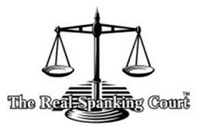 THE REAL SPANKING COURT