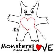 MONSTERS MADE WITH L VE