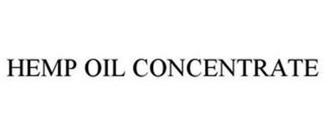 HEMP OIL CONCENTRATE