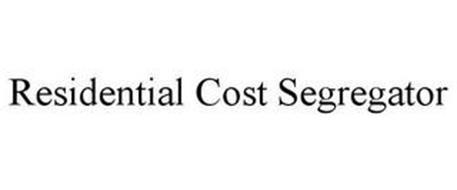 RESIDENTIAL COST SEGREGATOR