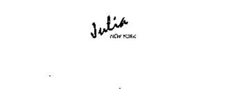 JULIA NEW YORK