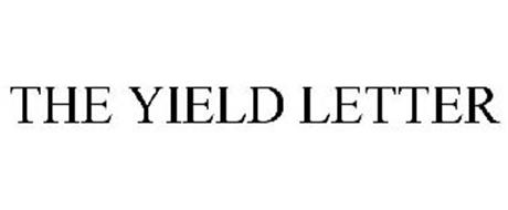 THE YIELD LETTER