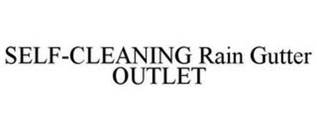 SELF-CLEANING RAIN GUTTER OUTLET