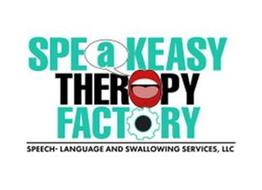 SPEAKEASY THERAPY FACTORY SPEECH- LANGUAGE AND SWALLOWING THERAPY SERVICES, LLC.