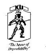 "KU ""THE SPEAR OF DEPENDABILITY"""
