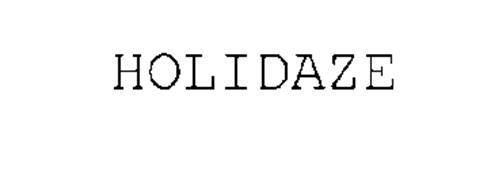 HOLIDAZE