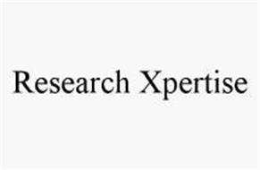RESEARCH XPERTISE