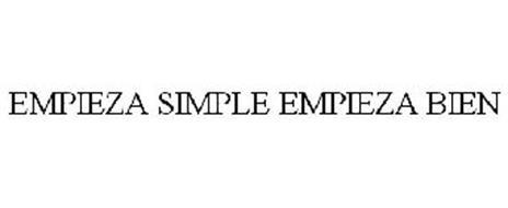 EMPIEZA SIMPLE EMPIEZA BIEN
