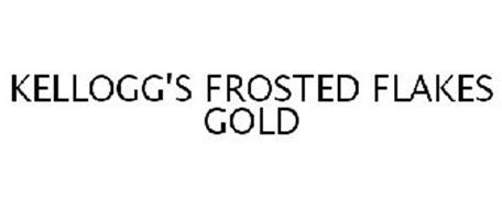 KELLOGG'S FROSTED FLAKES GOLD