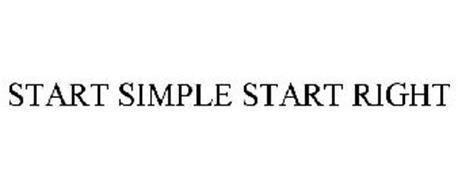 START SIMPLE START RIGHT